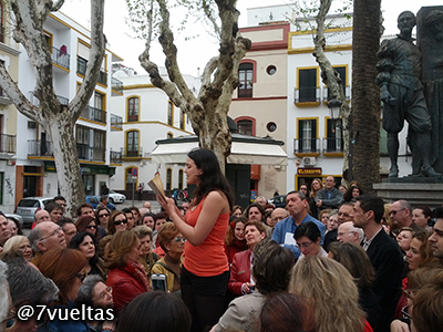 Se leen fragmentos de la obra de Bécquer en la Plaza de San Lorenzo
