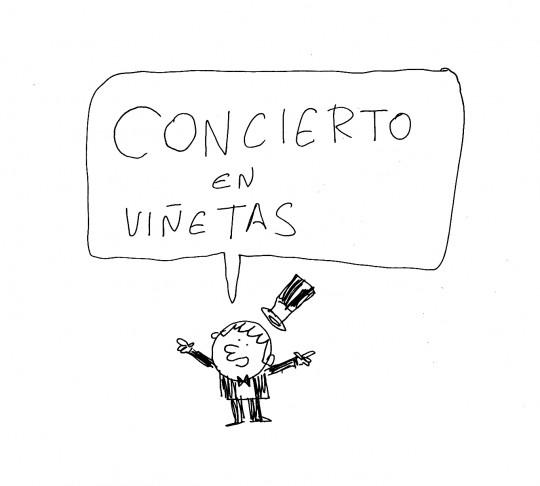 concierto en viñetas