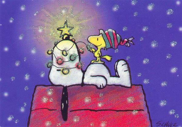 Snoopy comics de Navidad