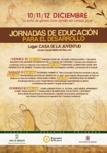 Jornadas EpD y Desarrollo en Córdoba