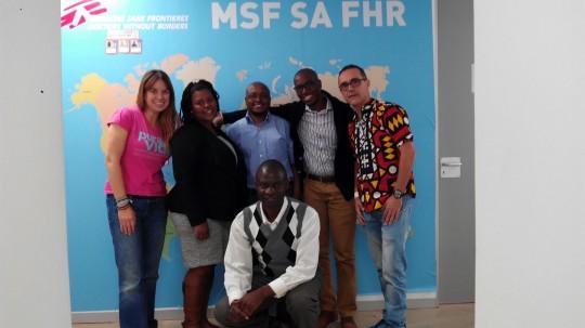 Visita MSF Joburg 20160815