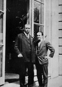Conan Doyle y Harry Houdini
