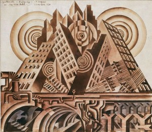 La Nueva Babel. Fortunato Depero. 1930
