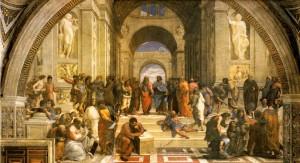 La escuela de Atenas. Rafael Sanzio. 1511