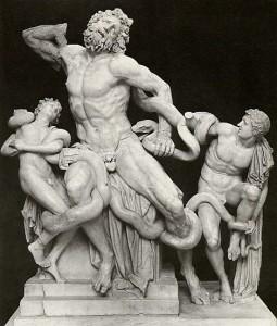 Laocoonte y sus hijos. Agesandro, Polidoro y Atenodoro de Rodas. 40-20 A.C.