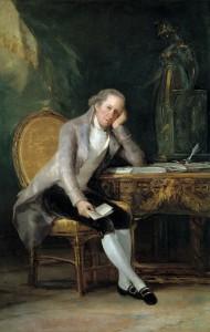Melchor Gaspar de Jovellanos. Goya. 1798