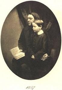 Philip Henry Gosse & Edmund Gosse (1857)