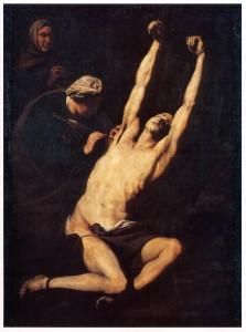 San Sebastián atendido por Santa Irene. José de Ribera. 1630-40.