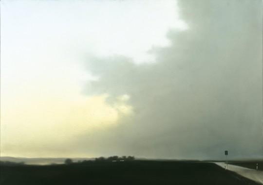 1-Gerhard Richter -Paisaje cerca de Hubbelrath- 1969