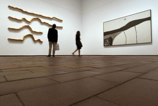 Obras de Perejaume y Miró