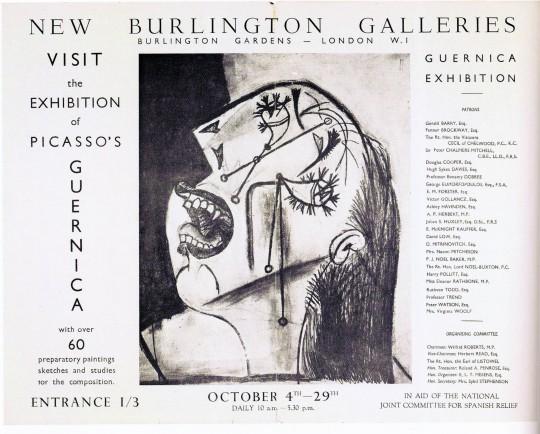 Catálogo de la muestra del 'Guernica' de Picaso en Londres