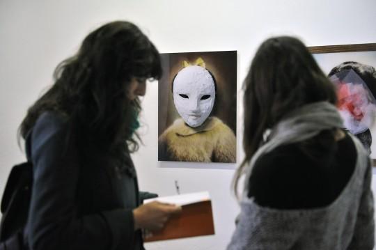 'Colecciones de fisonomías' en Rafael Ortiz @Juan Carlos Vázquez
