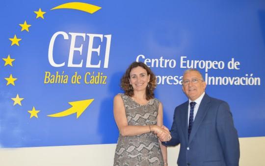 Carmen Romero toma el relevo de Miguel Urraca al frente del CEEI