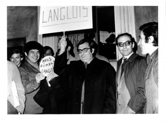 Chabrol y Godard 1968