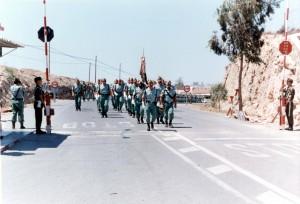 La Legion hace su entrada oficial en la Base A Sotomayor