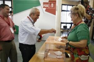 RG160711- CONGRESO EXTRAORDINARIO PSOE ALMERIA 2011 - ELECCION SECRETARIO PROVINCIAL SANCHEZ TERUEL