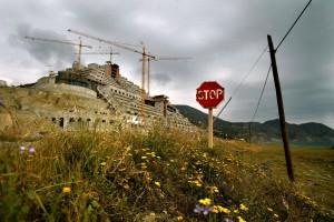 """TO GO WITH AFP STORY """"España-medioambiente-clima-economía-construcció"""