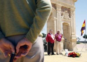 Almería 13-04-2008: Homenaje a los republicanos asesinados en la anti