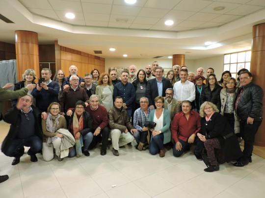 171130 Foto Nueva Ejecutiva PSOE Almería