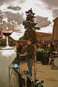 Concierto del Gran Wayoming en la feria de vinos del Priorato