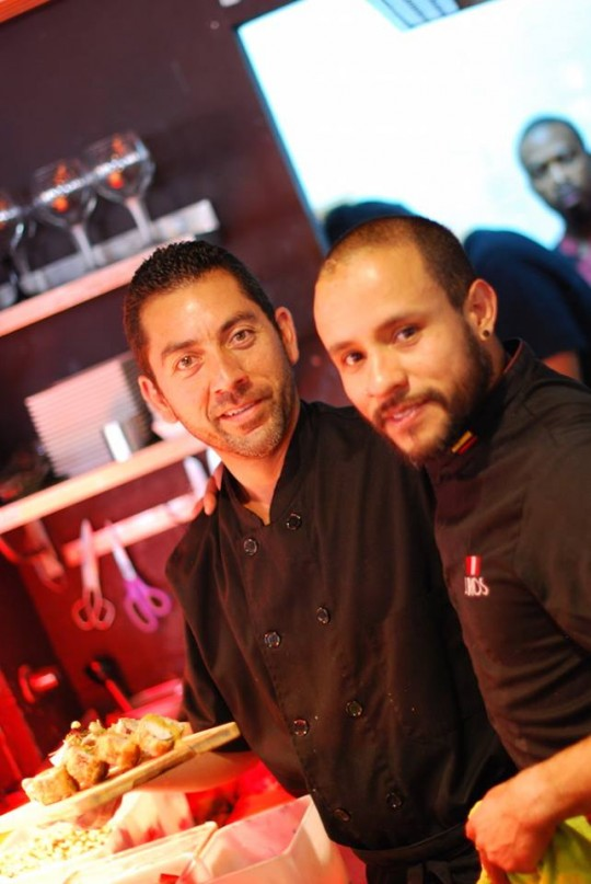 John Alexander Ríos de Nazca restaurante