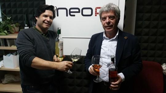 Francis Robles y Álvaro Martín en Paladar Español, NEO FM