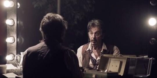 Al Pacino, en 'La sombra del actor'.