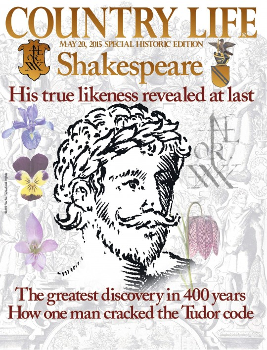 Shakespeare, en la portada de 'Country Life'.