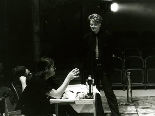 Werner Schwab, de director, en una imagen de 1992.