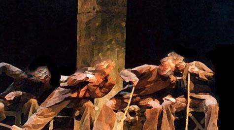 Una imagen promocional de 'La cárcel' de Teatro del Velador.