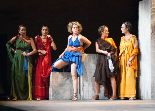 'Lisístrata', según la Tonia Taylor Company, en Itálica