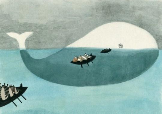 'Moby Dick', ilustrada por Beatriz Martín.