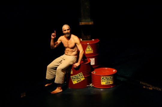 Eduardo Velasco, en 'El profeta loco'.