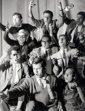 El grupo Quimera, en los 60.