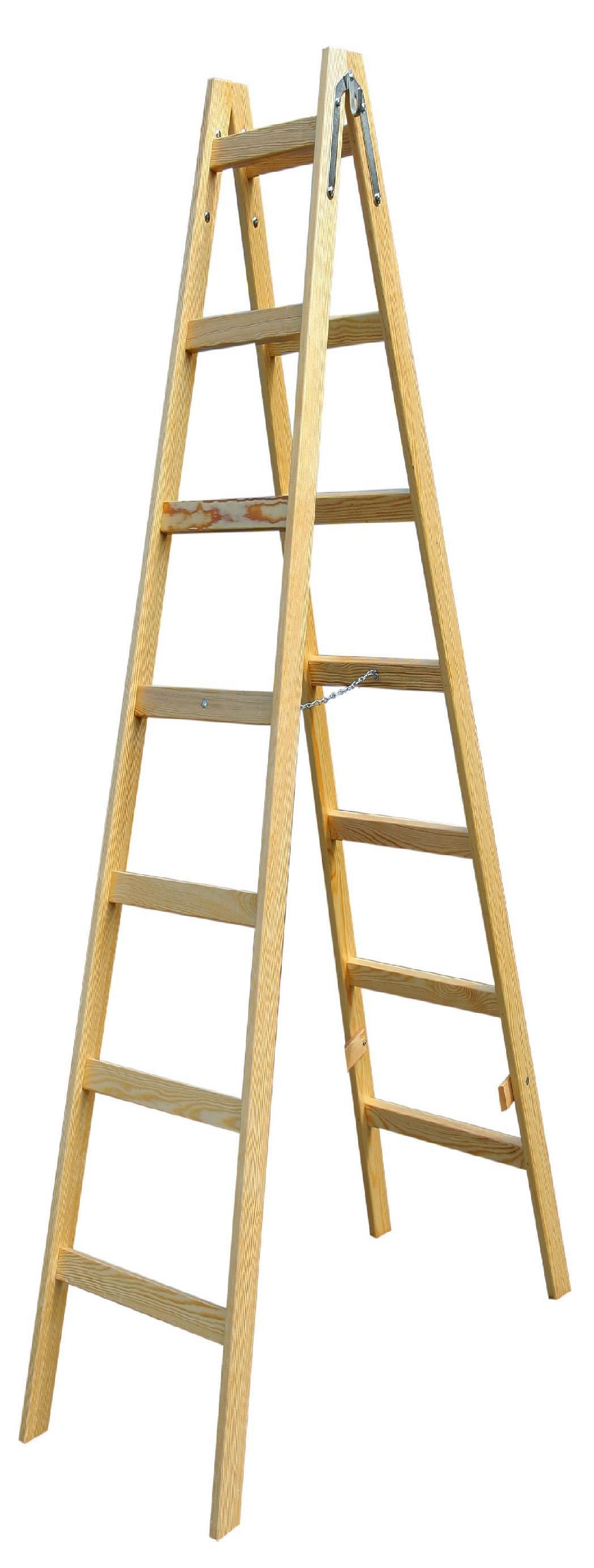 Escaleras de madera para pintor escalera de maderas para for Escaleras pintor precios