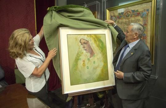 presentación del cartel del 50 aniversario de la basílica de la MACARTENA