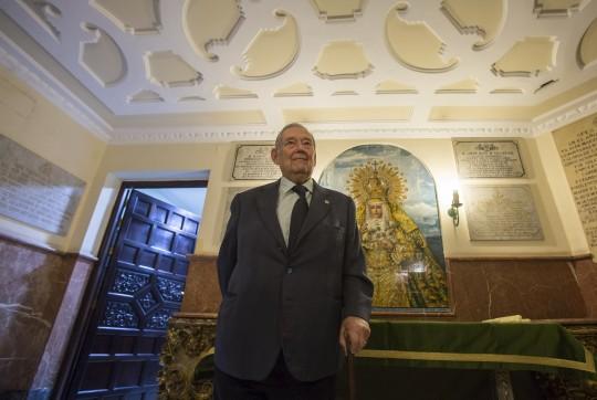 Entrevista Mauel García Hermano Mayor de la Macarena.