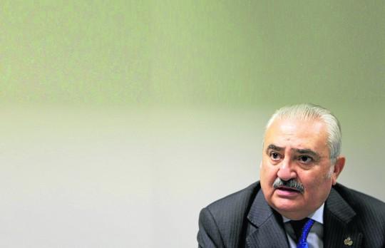 Carlos Bourrellier, presidente del Consejo de Cofradías.