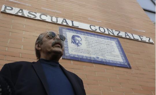INAUGURACIÓN DE LA CALLE DE PASCUAL GONZÁLEZ