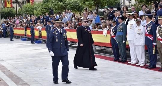 Plaza Nueva.  Jura de bandera de personal civil