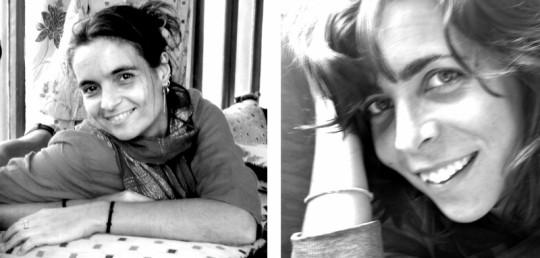 Las cooperantes de MSF, Montserrat Serra y Blanca Thiebaut. / MSF