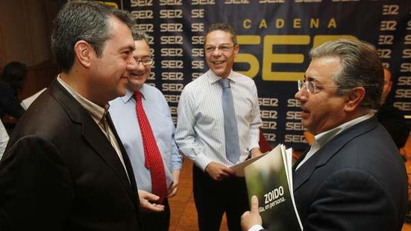 Espadas y Zoido, en el debate de la Ser / José Ángel García