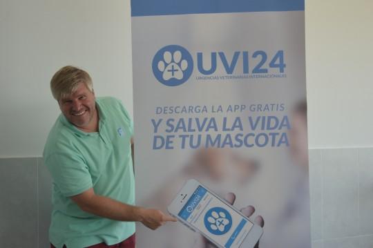 Óscar Echeverría, fundado de UVI24.