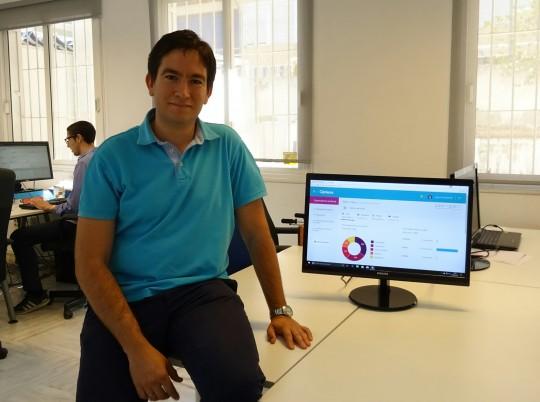 Pablo Adanero, CEO de Dinamic Area y responsable de Opileak.