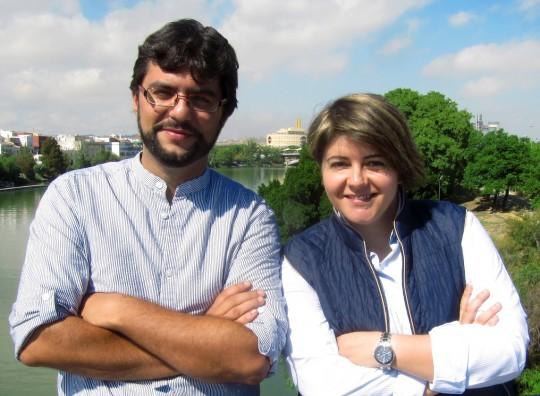 Raúl Díez y Esperanza Moreno.