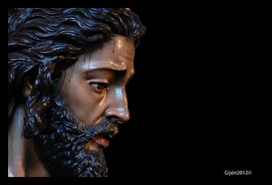 Ntro. Padre Jesús Cautivo y Rescatado en una foto de mi amigo Álvaro Gijón.