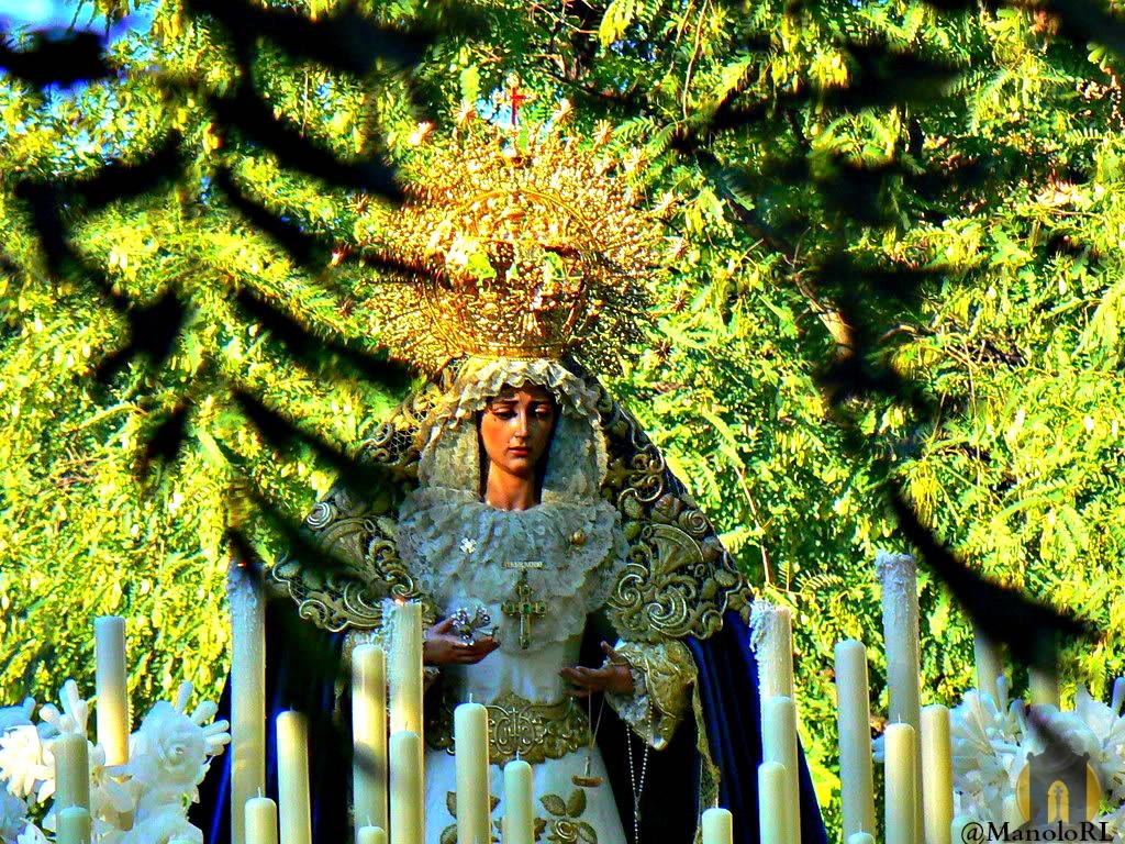 El Domingo Rosario Publico de Santa María de Consolación Madre de la Iglesia