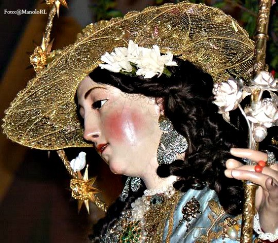 Pastora Santa Marina, foto @ManoloRL