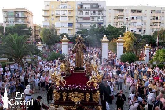 Corazón de Jesús 2014 en San Juan de Dios. Foto El Costal