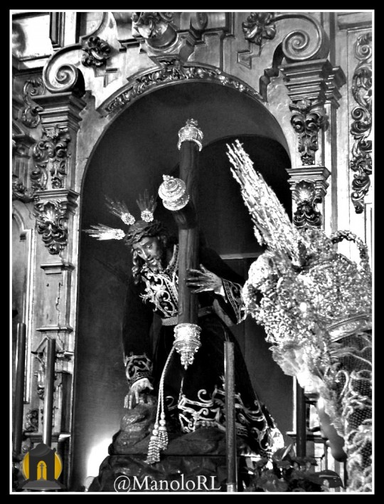 Antiguo altar Tres Caídas